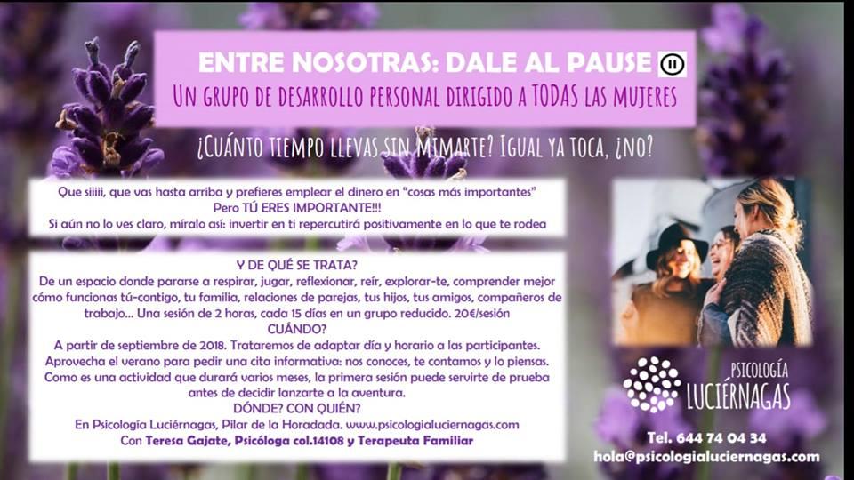 Grupo de Desarrollo Personal para Mujeres: ¡a la vuelta de la esquina! (o del verano)